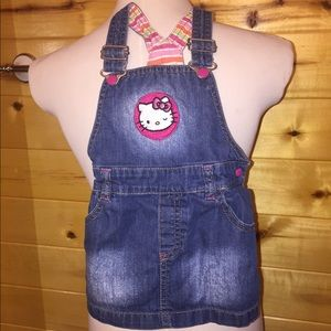 H&M Hello Kitty Overall Dress
